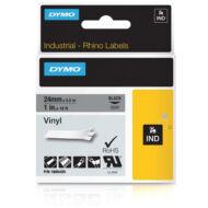 ID1 PVC szalag 24mmx5,5, fekete/szürke