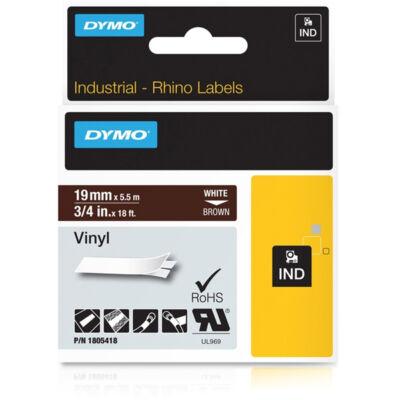 ID1-es PVC szalag 19mmx5,5m fehér/barna