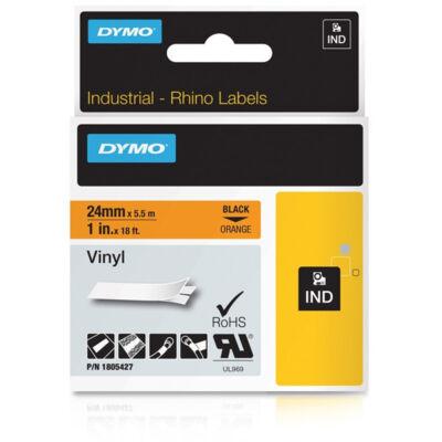 ID1 PVC szalag 24mmx5,5, fekete/narancs