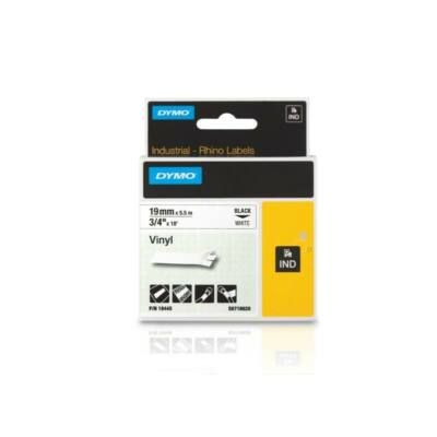 ID1-es vinyl szalag 19mmx5,5m fekete/fehér