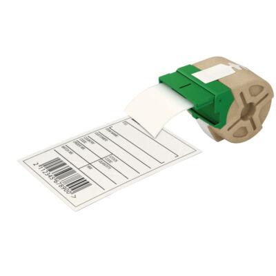ICON címketekercs, folyamatos, 61mm, öntapadós papír, fehér