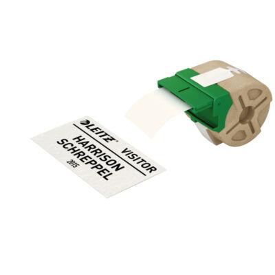 ICON címketekercs folyamatos, 57mm, nem öntapadós, papír, fehér (22m)