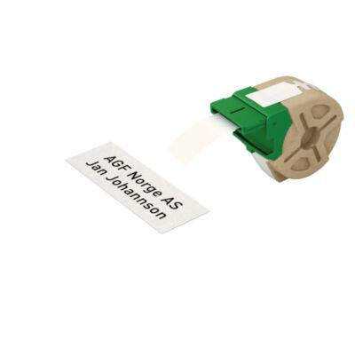 ICON címketekercs, folyamatos, 32mm, nem öntapadós papír, fehér (22m)