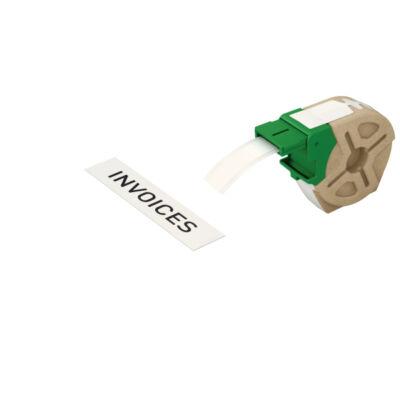 ICON címketekercs, folyamatos, 19mm, öntapadsó papír, fehér (22m)