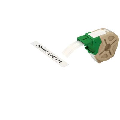 ICON címketekercs, folyamatos, 12mm, öntapadsó papír, fehér (22m)