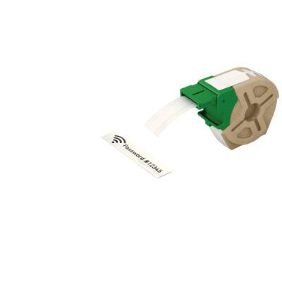 ICON címketekercs, folyamatos, 12mm műanyag öntapadós fehér (10m)