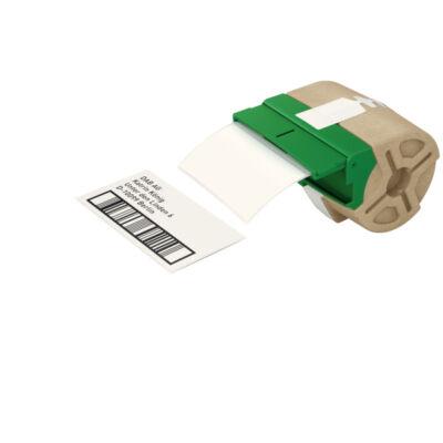 ICON címketekercs, stancolt, 50mmx88mm) öntapadós papír, fehér (435db)