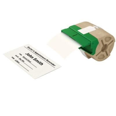 ICON címketekercs, folyamatos, 91mm, nem öntapadós papír, fehér (22m)