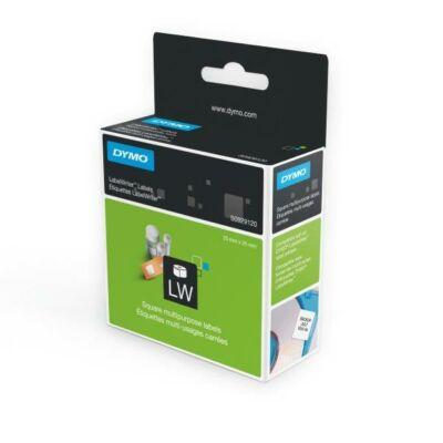 LabelWriter etikett címke, 25mmx25mm, 750db/tekercs