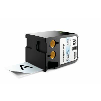 XTL kazetta 54 mm x 7 m vinyl fekete/víztiszta