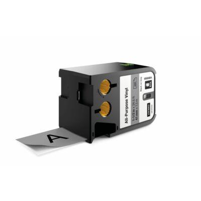 XTL kazetta 41 mm x 7 m vinyl fekete/szürke