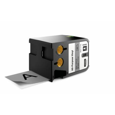 XTL kazetta 54 mm x 7 m vinyl fekete/szürke