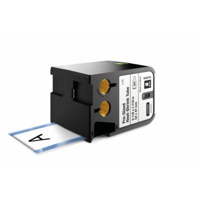 XTL kazetta (54 mm x 47 mm) előre méretezett hőre zsugorodó cső, fekete/fehér 25 db
