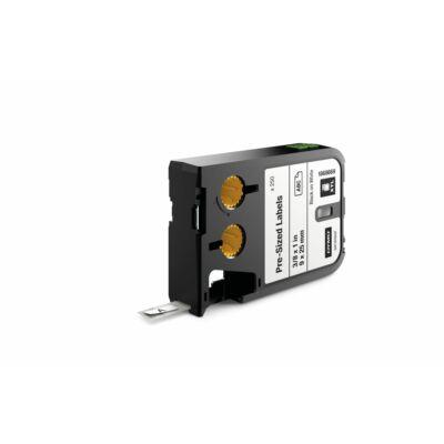 XTL kazetta (9 mm x 25 mm) előre méretezett, fekete/fehér, 250 db