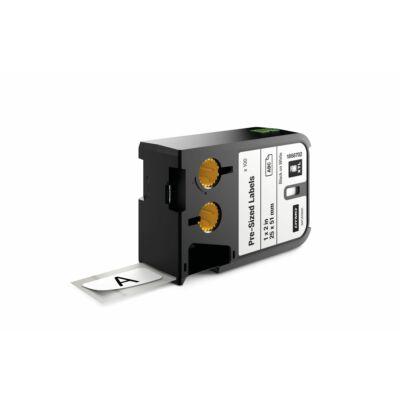 XTL kazetta (25 mm x 51 mm) előre méretezett, fekete/fehér, 100 db