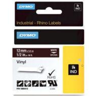 ID1-es PVC szalag 12mmx5,5m fehér/barna (1805412)