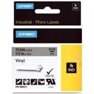 ID1-es PVC szalag 12mmx5,5m fekete/szürke (1805413)