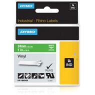 ID1 PVC szalag 24mmx5,5, fehér/zöld  (1805426)