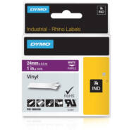 ID1 PVC szalag 24mmx5,5, fehér/lila (1805428)
