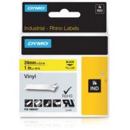 ID1 PVC szalag 24mmx5,5, fekete/sárga (1805431)