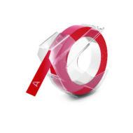 Szalag kézi betûnyomógéphez, 9 mm, piros (524702)