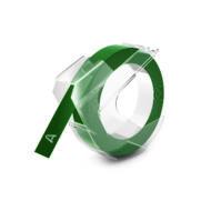 Szalag kézi betûnyomógéphez, 9 mm, zöld (524705)