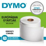Dymo címetikett, 89mmx28mm (130db/tekercs, fóliában)