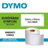 Dymo nagy méretű etikett címke 99014, 101mmx54mm (220db/doboz)