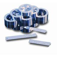 Aluminium szalag Dymo M11-hez, öntapadós