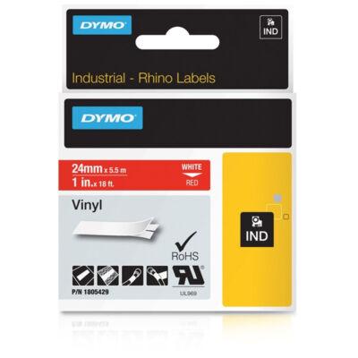 ID1 PVC szalag 24mmx5,5, fehér/piros