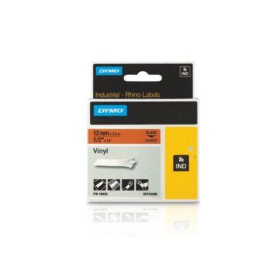 ID1-es vinyl szalag 12mmx5,5m fekete/narancs