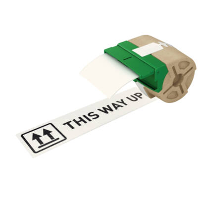 ICON címketekercs folyamatos, 88mm, öntapadós, papír, fehér