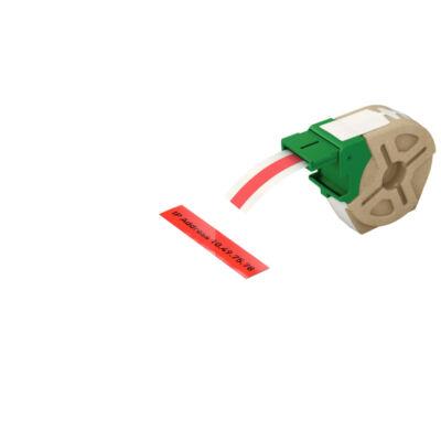 ICON címketekercs folyamatos 12mm, műanyag öntapadós, piros (10m)