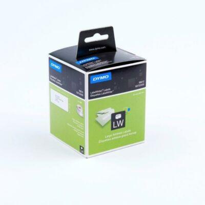 Dymo címetikett, 89mmx36mm (520db/doboz)