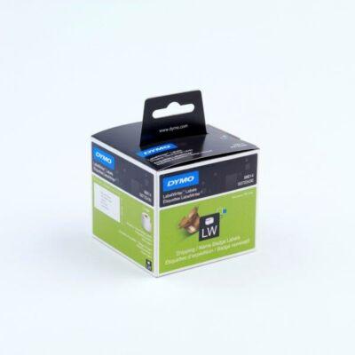 Dymo nagy méretű etikett címke, 101mmx54mm (220db/doboz)