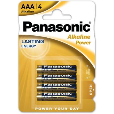 Panasonic Alkaline Power AAA mikro ceruza elem