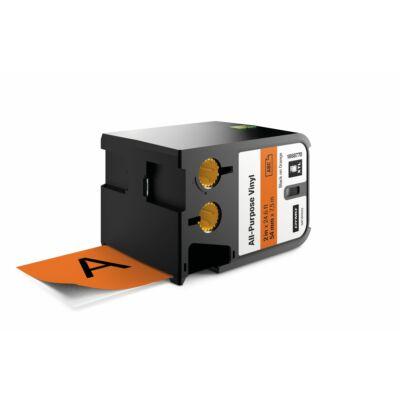 XTL kazetta 54 mm x 7 m vinyl fekete/narancs (1868770)